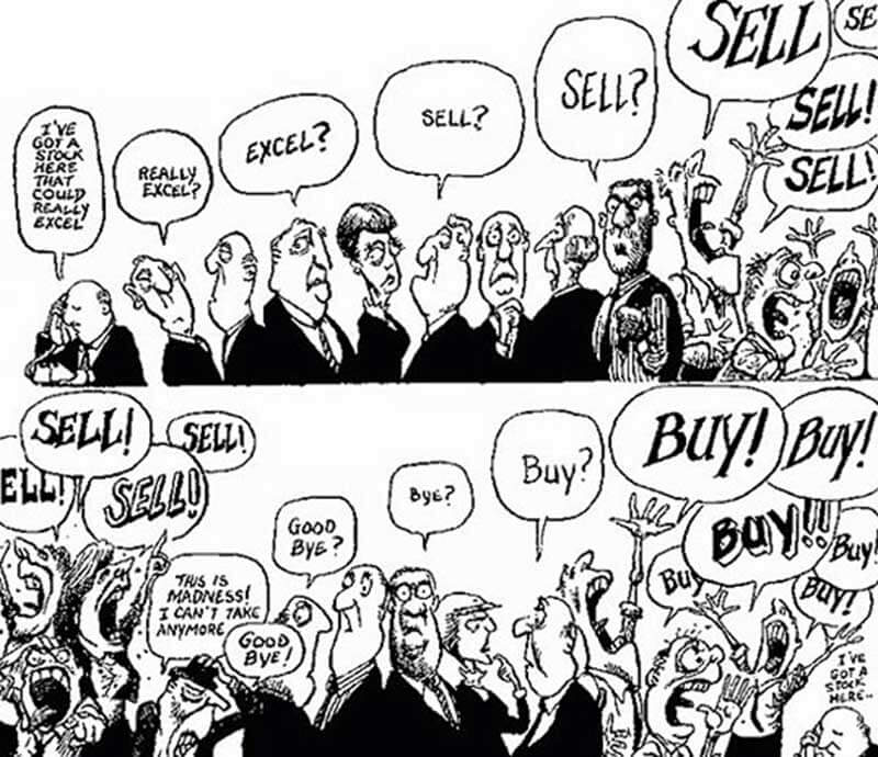 22 funny pictures from the stock market | Trademetria